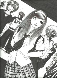 Front cover of manga by Paezjade